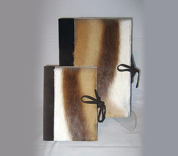 Springbok & Leather Suede Book A5