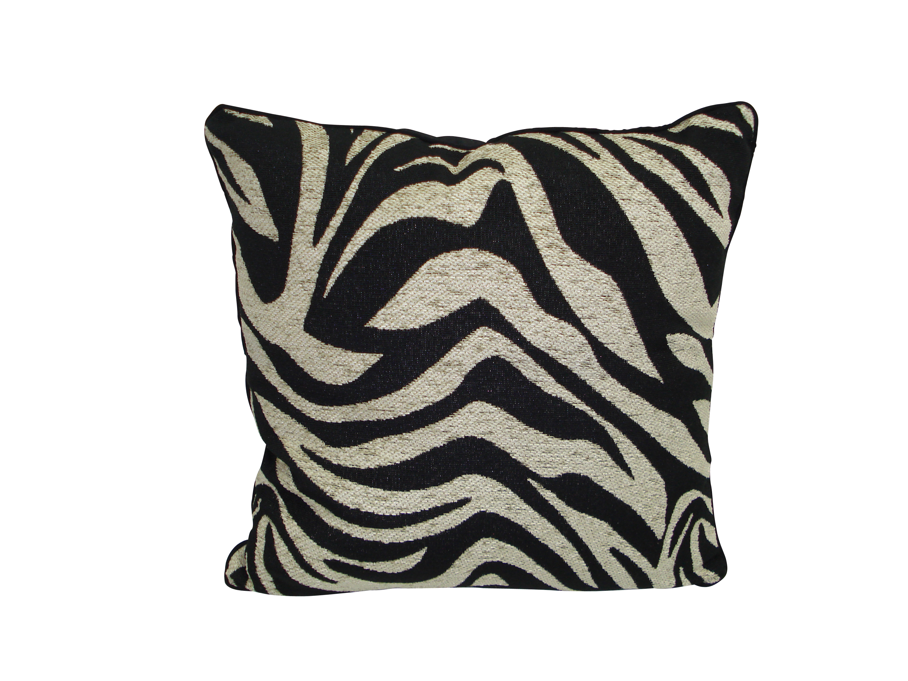 Zebra Ebony Cushion