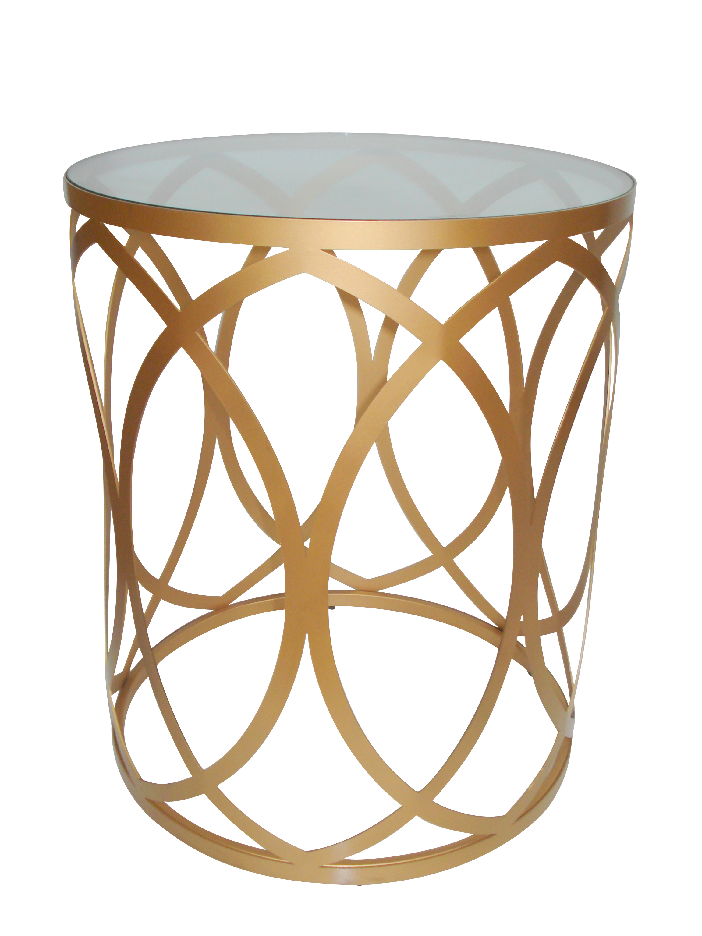 Attractive Drum Side Table
