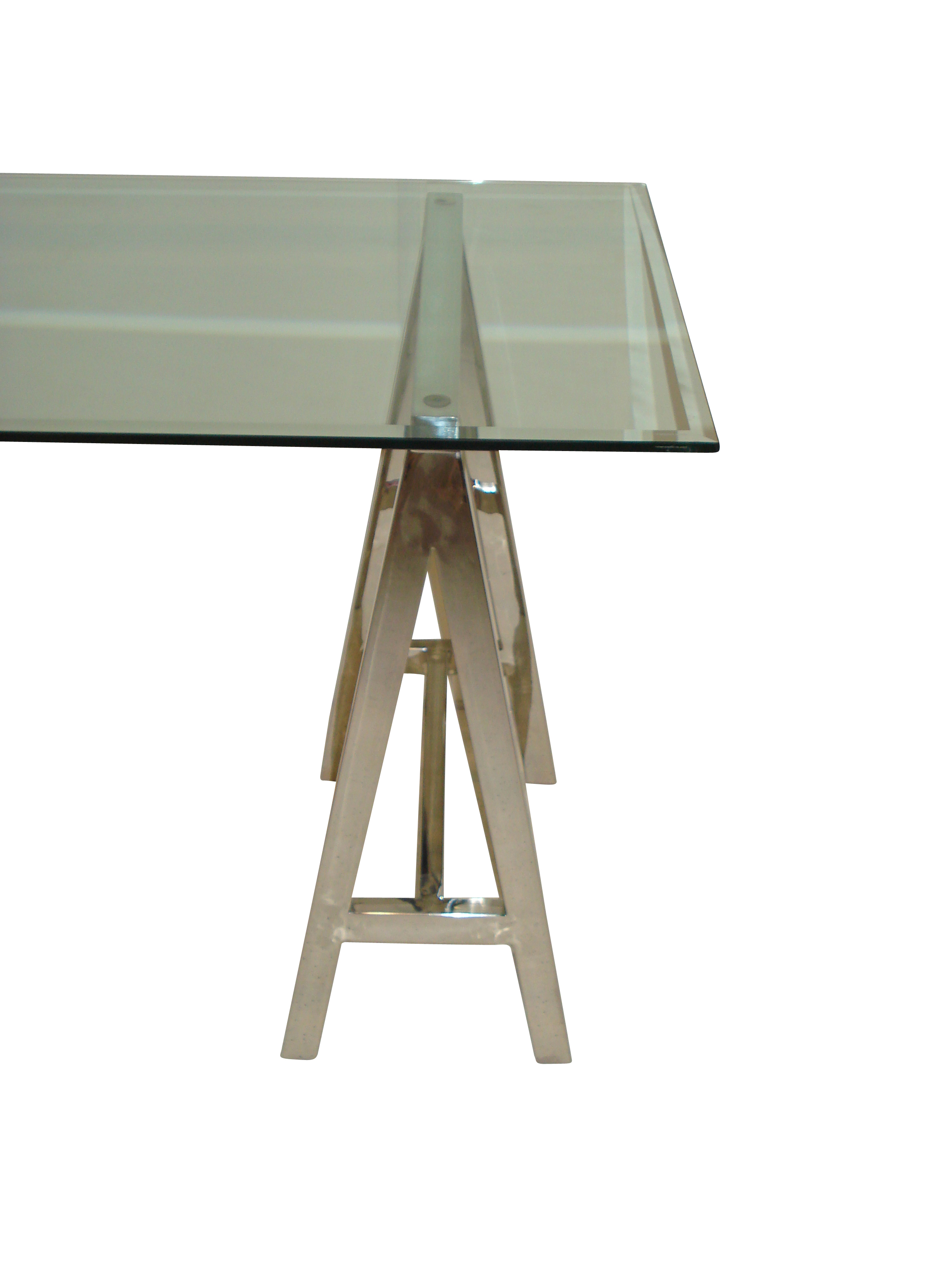 Stainless Steal Trestle Table Leg