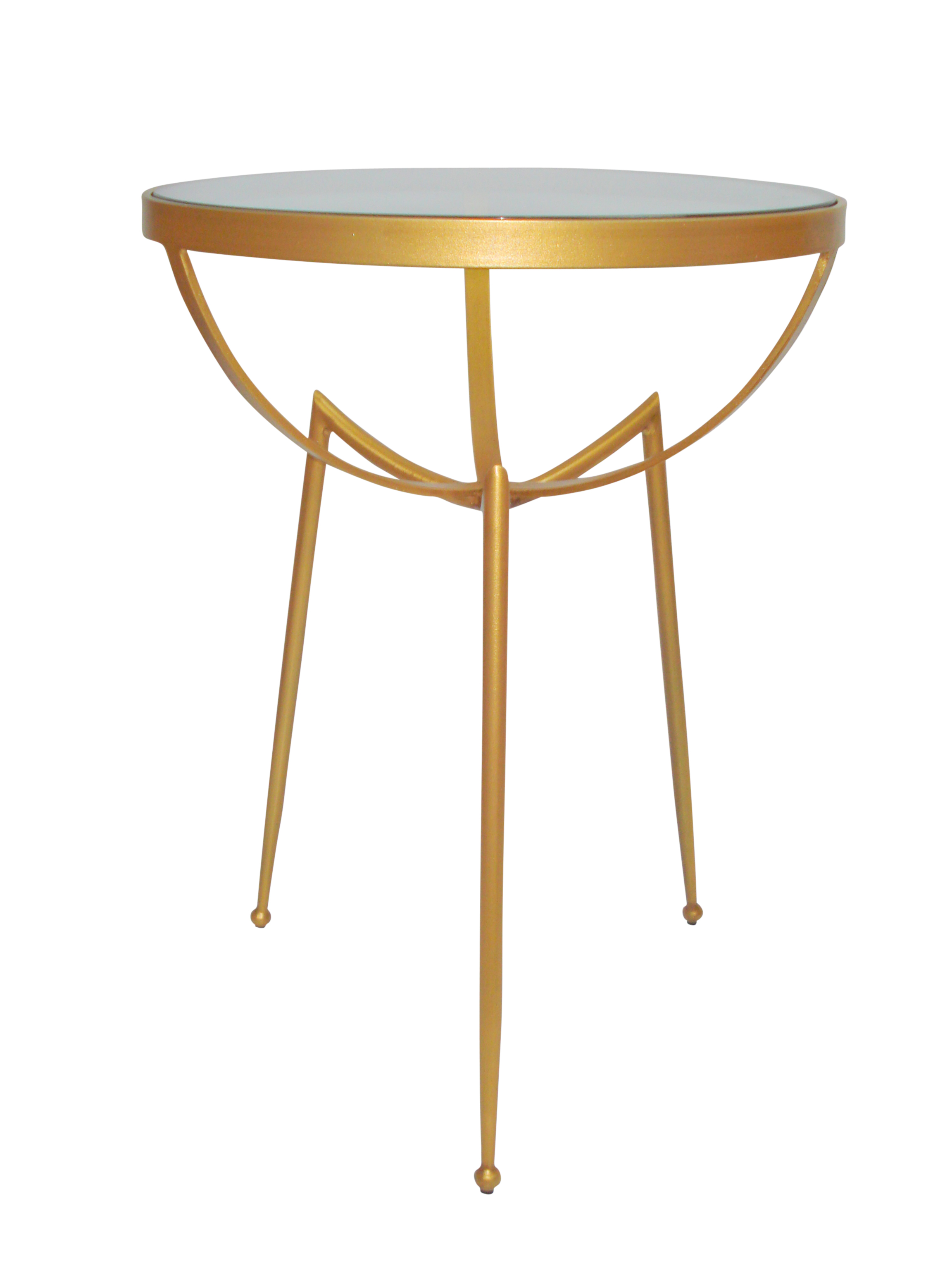 Ziggy Side Table Gold