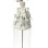 Yoruba Beaded Headdress – White