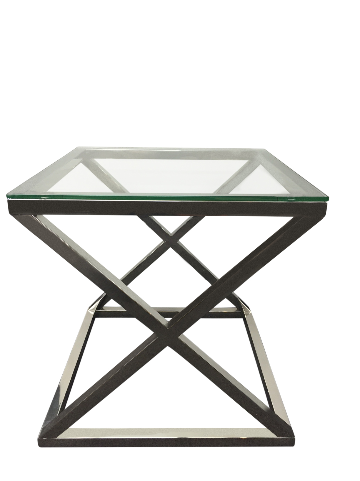 dining nicholas tables arianna top product clear stainless glass a john zenith end marble table with steel