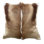 Natural Springbok Cushion
