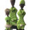 Ndamji Beaded Doll – Lime
