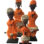 Ndamji Beaded Doll – Orange